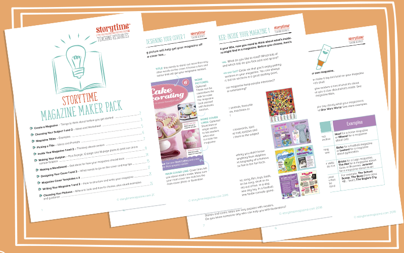 storytime_school_magazine_teaching_resources_magazine_maker_pack_www.storytimeforschools.com/teaching-resources
